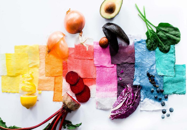Dyeing in natural dye