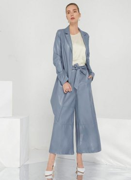 PU coat & pants