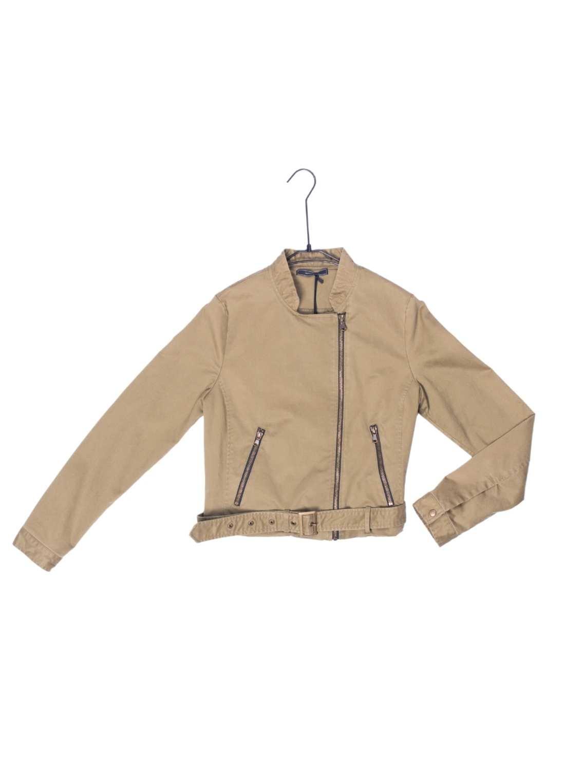 Ladies Cotton Garment Washing Jacket