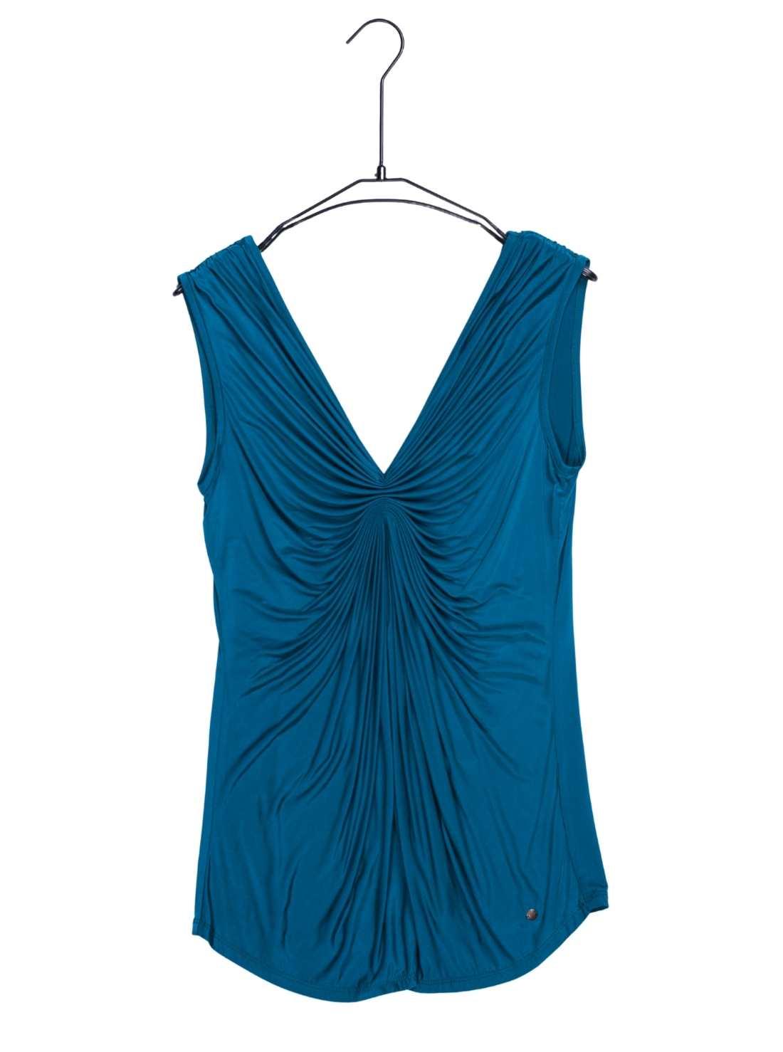 Ladies Cupro Jersey Sleeveless T Top