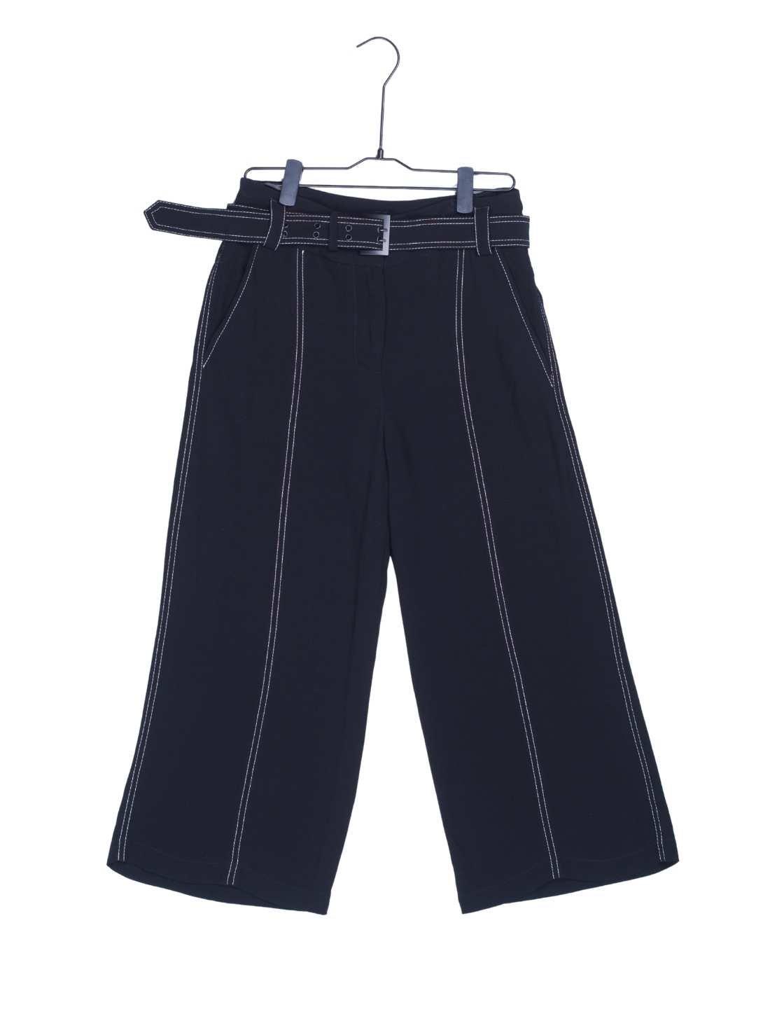 Ladies Heavy Crepe Strait leggs Pants