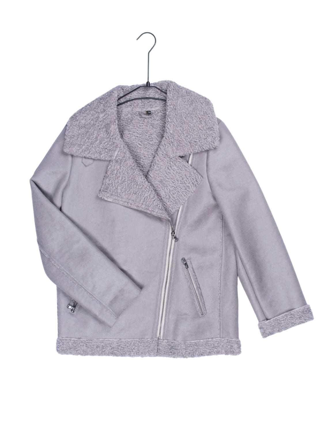 Ladies Heavy Suede Fabric Jacket