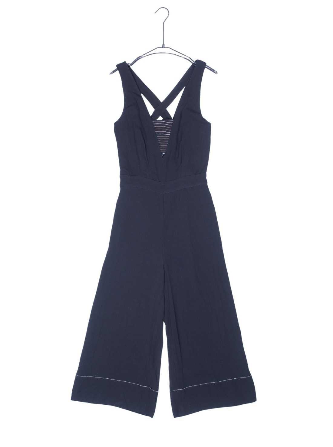 Ladies Heavy Viscose Crepe Jumpsuit