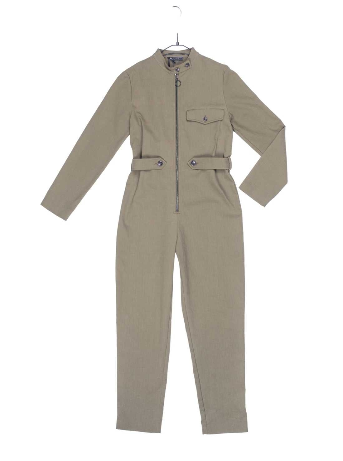 Ladies Long Sleeves Cotton Jaquard Overall
