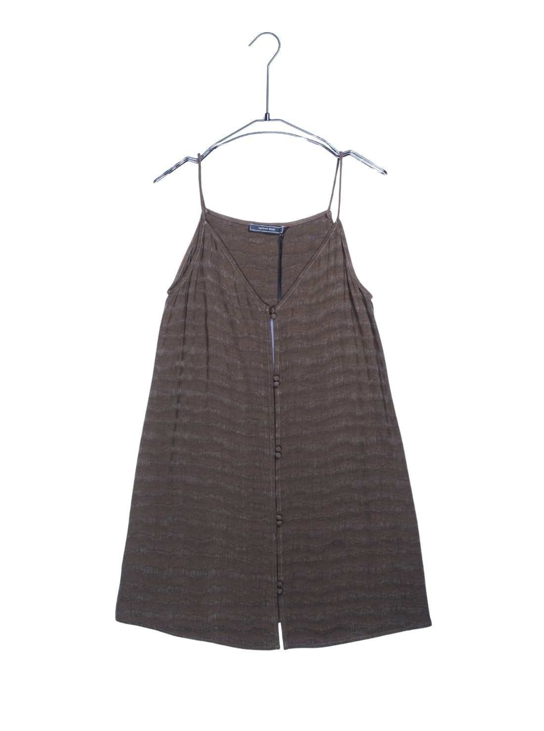 Woven Jaquard Cupro Dress