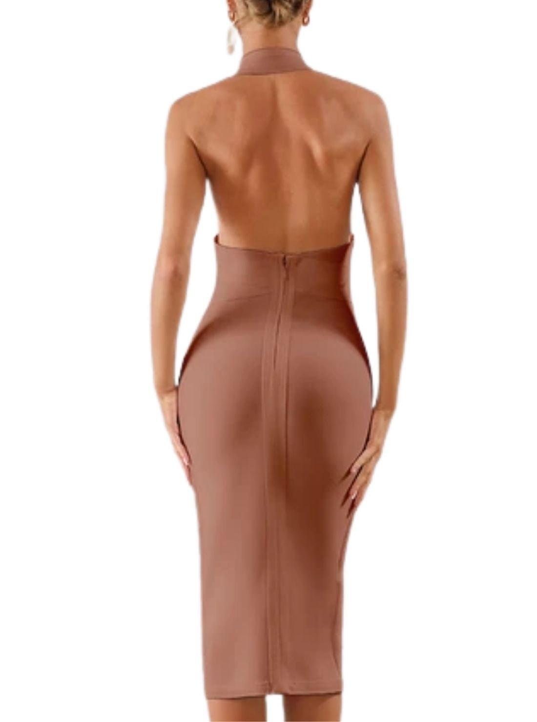 Wholesale Backless Bandage Dress
