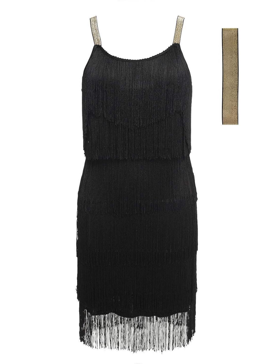Wholesale Fringe Flapper Dress