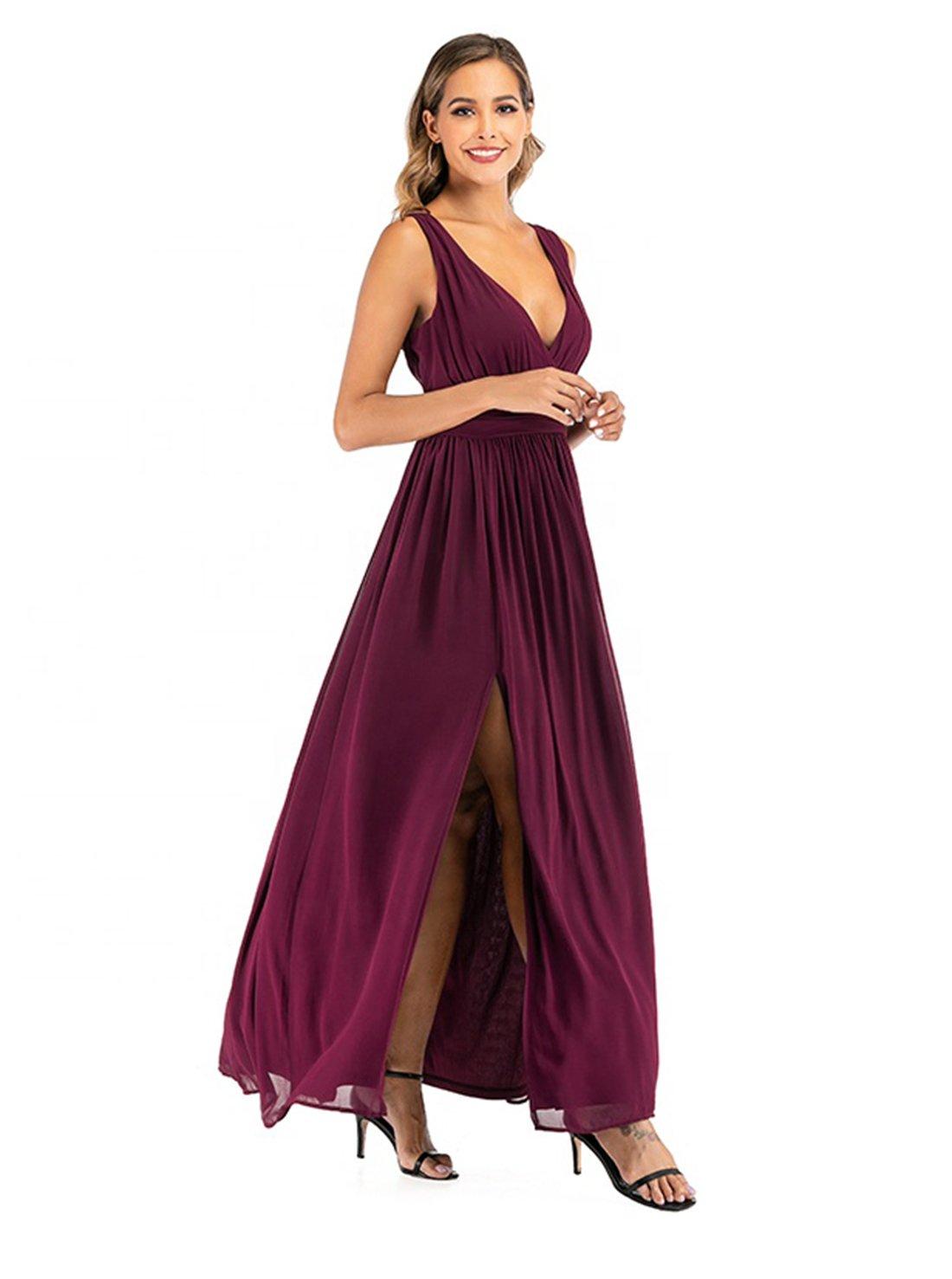 V Neck A-line Homecoming Cocktail Dress