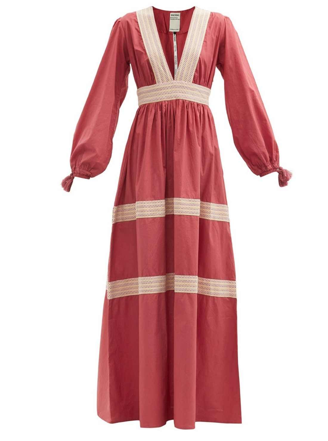 Unique style boho dress