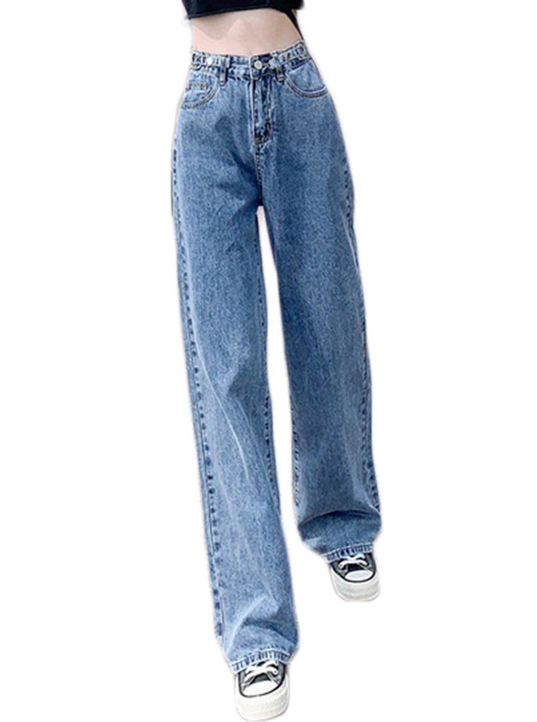 Shredded ladies' Jeans