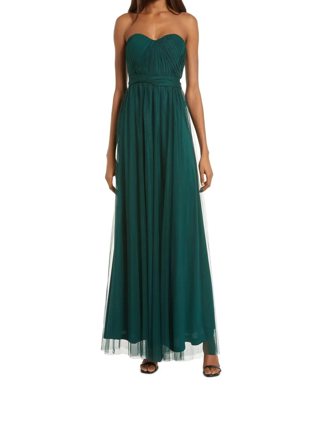 Convertible Tulle Gown for Regular & Plus Size