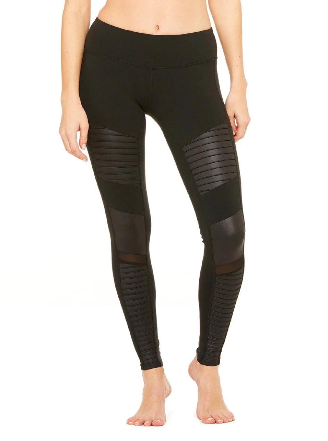 2 Wholesale Yoga Faux Leather Pants
