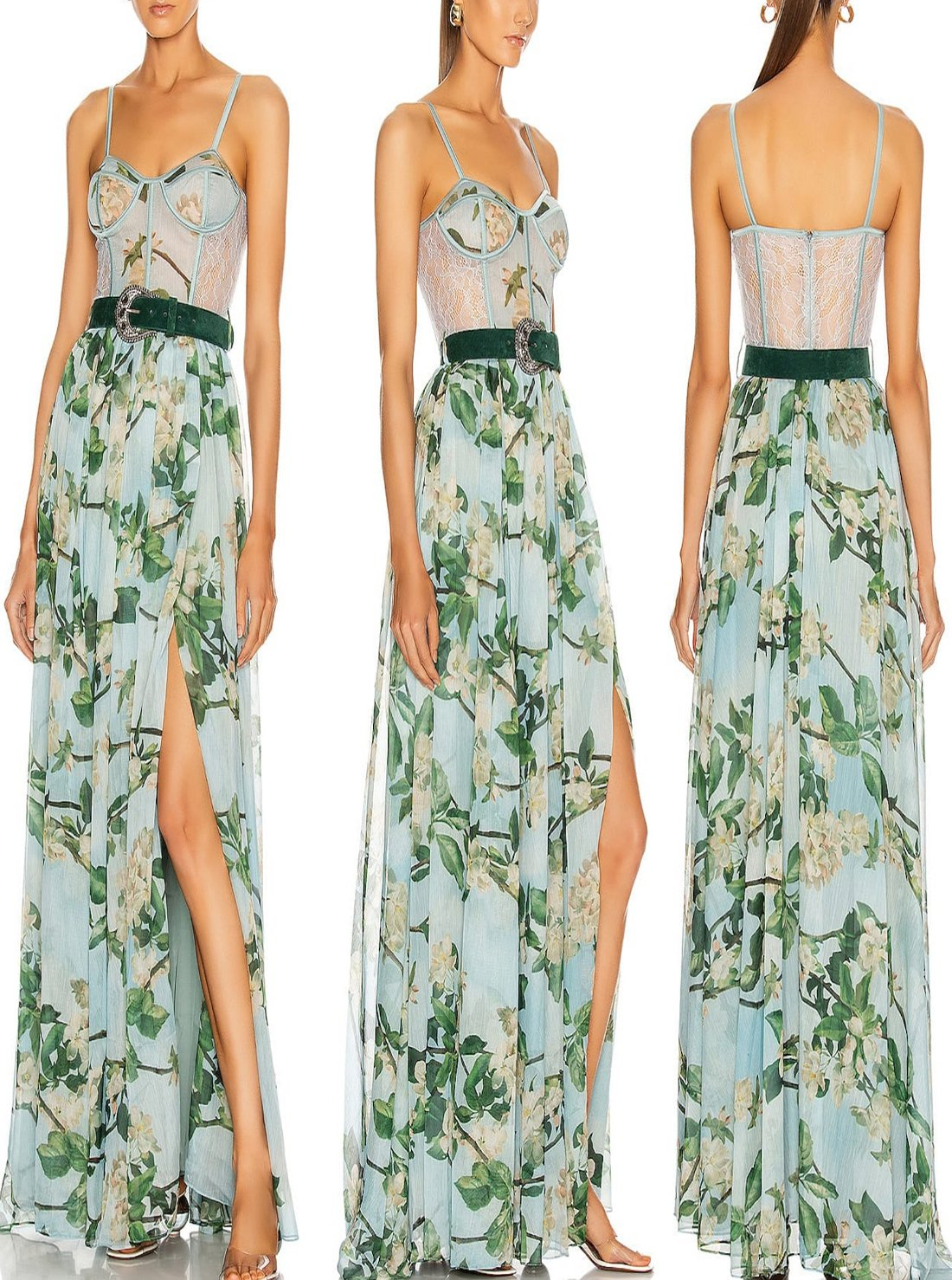 Casual Summer Fashionable Floral Dress