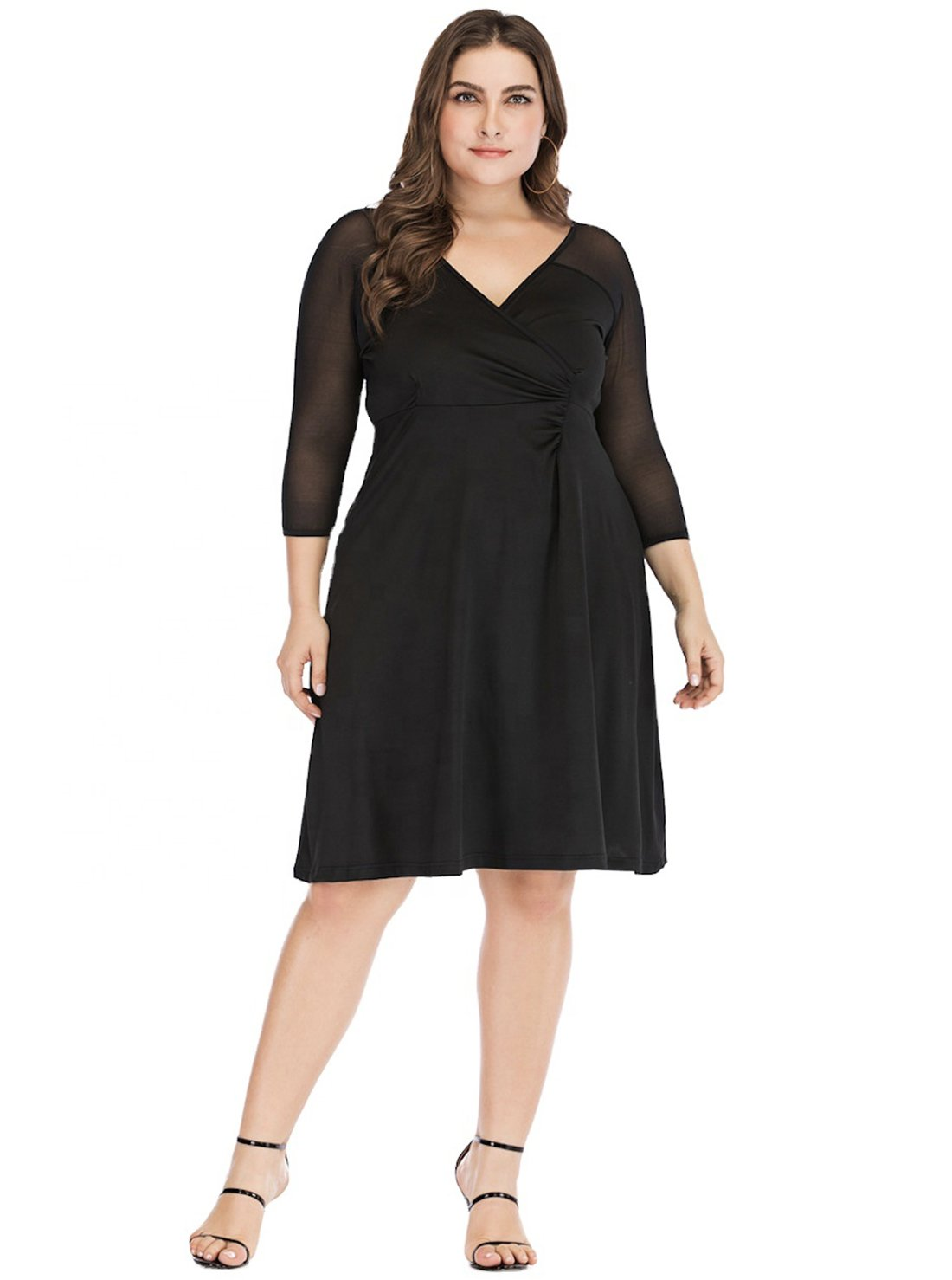Plus Size Homecoming Midi Dress