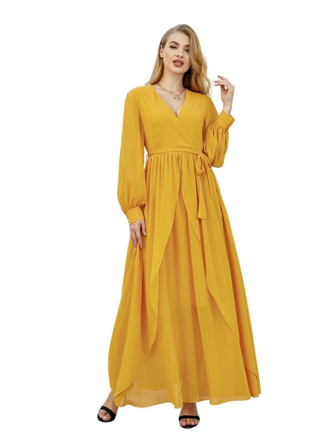 Wholesale Chiffon Maxi Occasion Dress