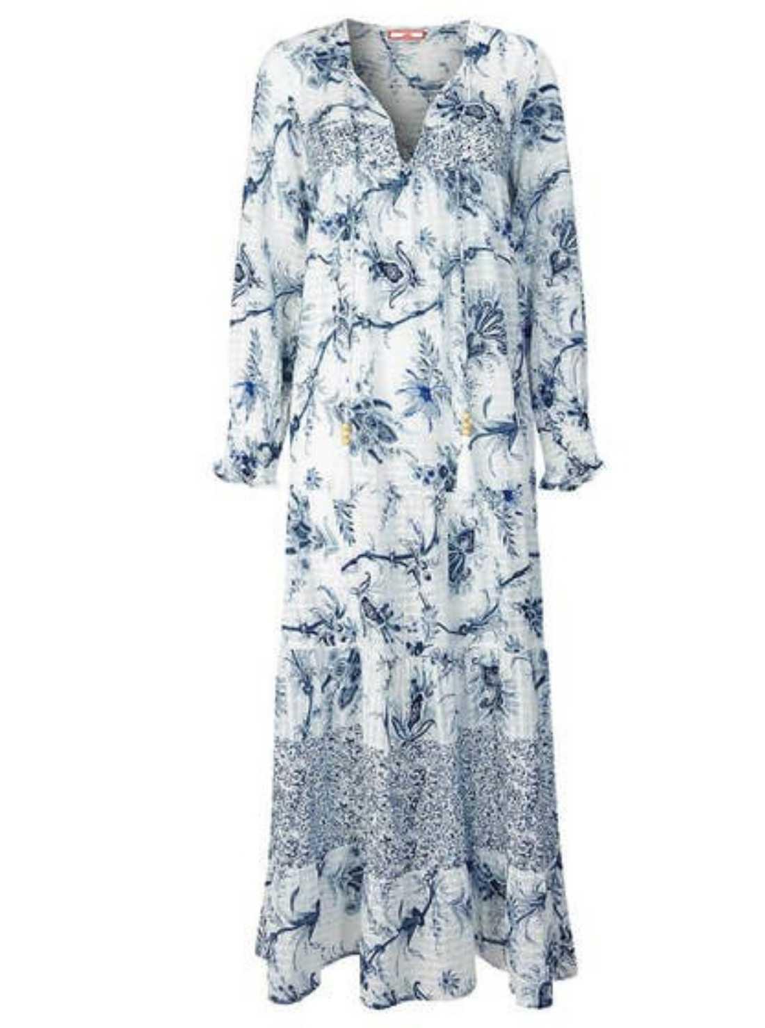 Beachy boho maxi dress