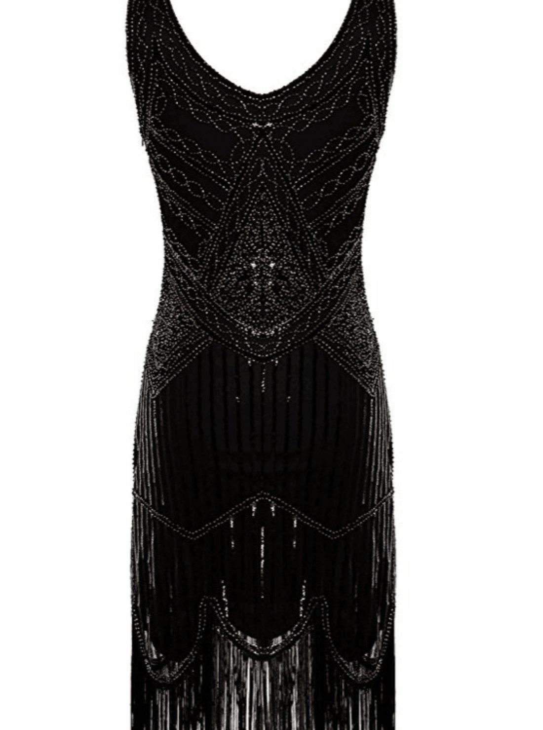 Wholesale Beaded Tassels Flapper Dress