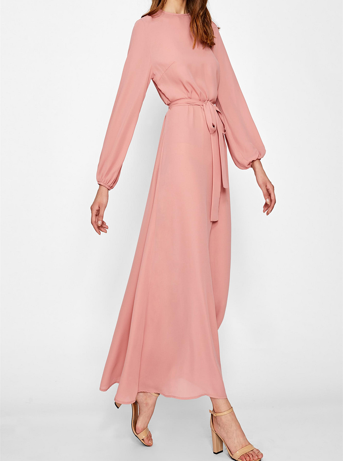 3 Wholesale Long Sleeve Maxi Dresses
