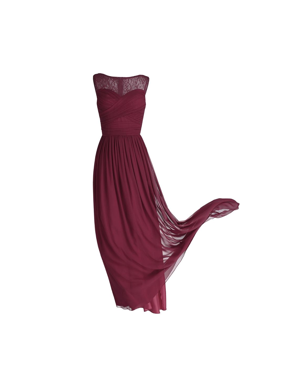Wholesale Sleeveles Lace Chiffon Dresses