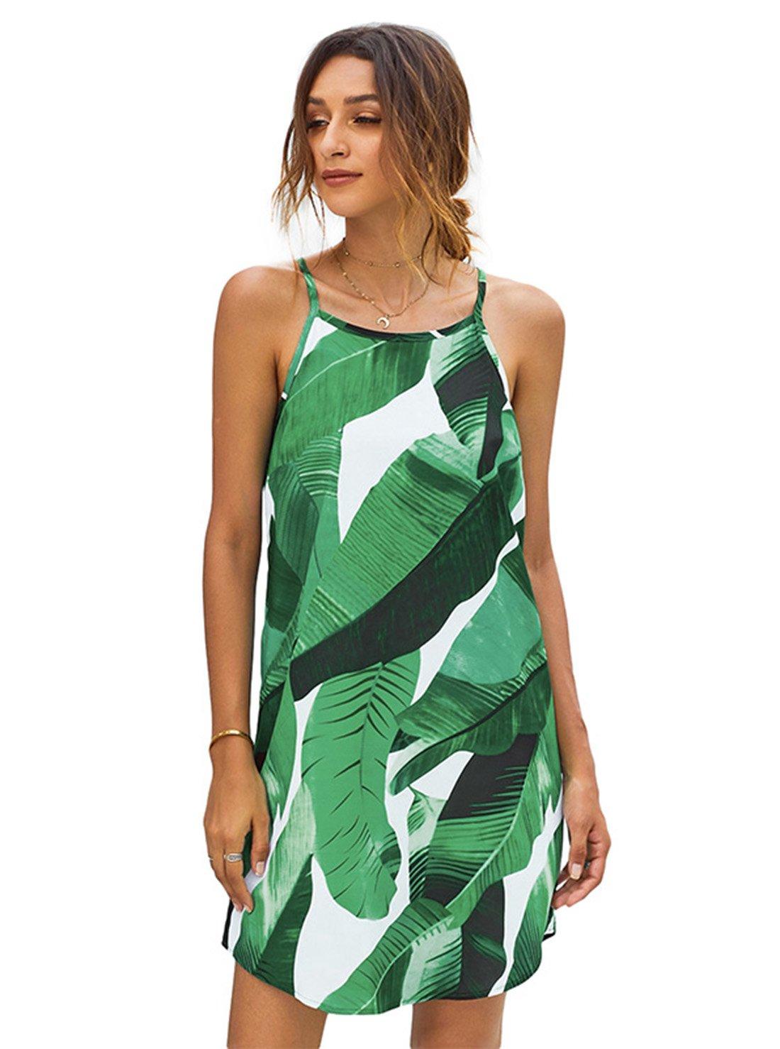 Wholesale Casual Women Loose Floral Dress