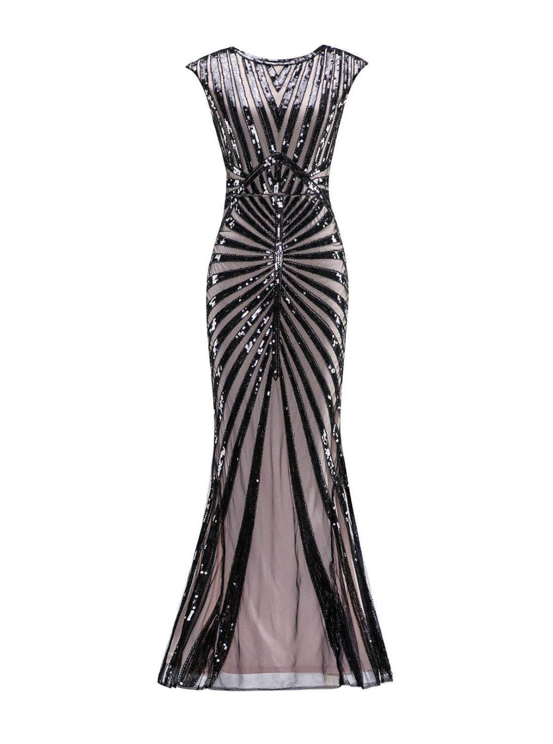 Wholesale Long Flapper Dress