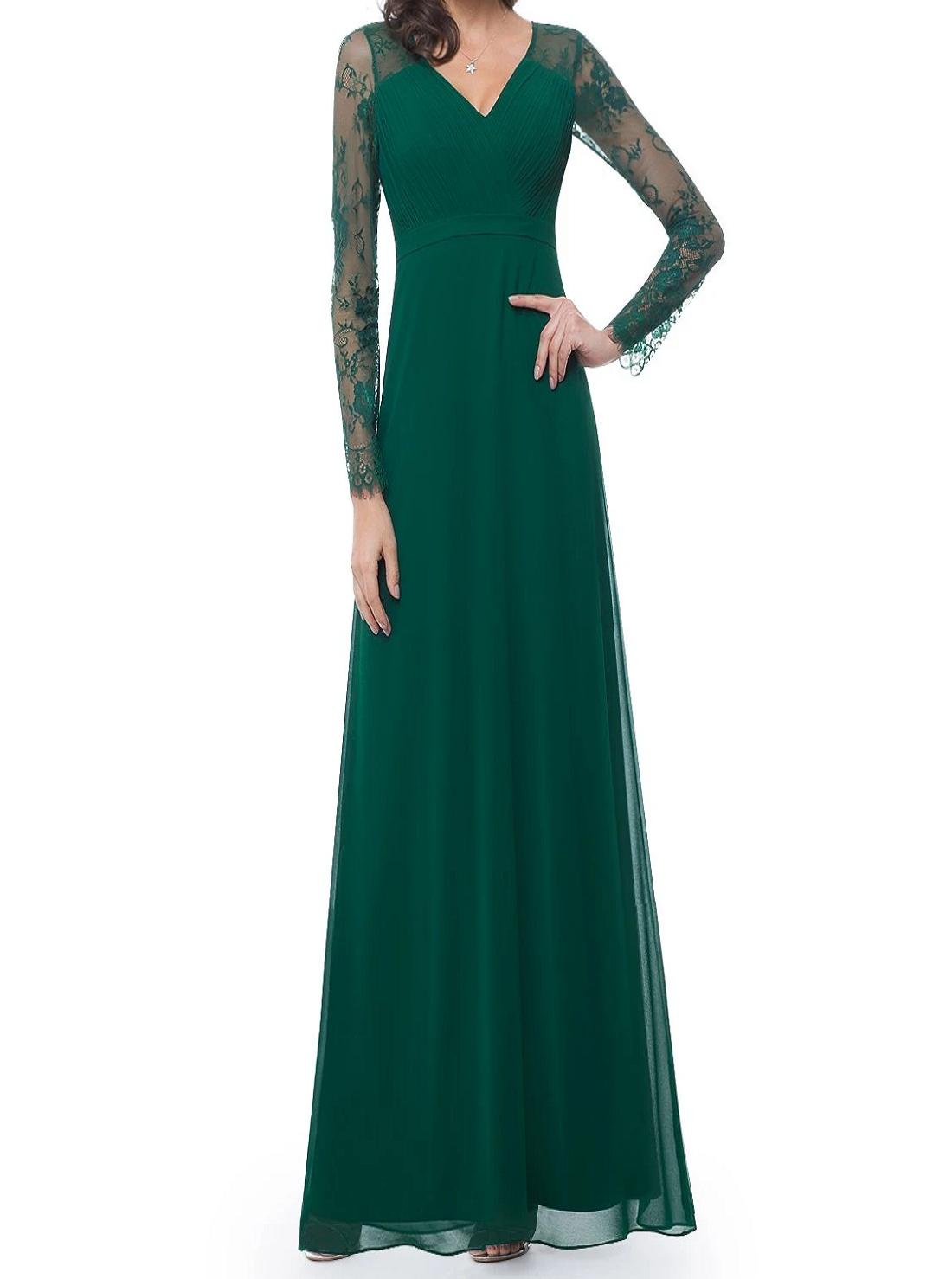 4 Wholesale Long Sleeve Polka Dresses