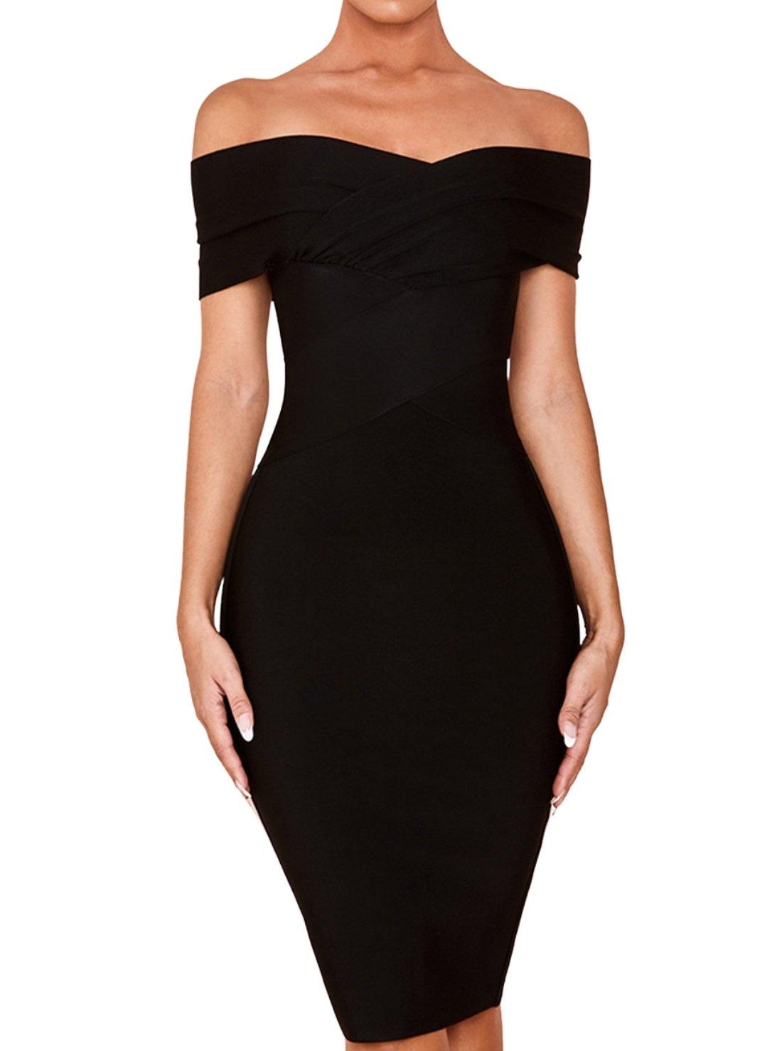 Wholesale Off-shoulder Bandage Dress