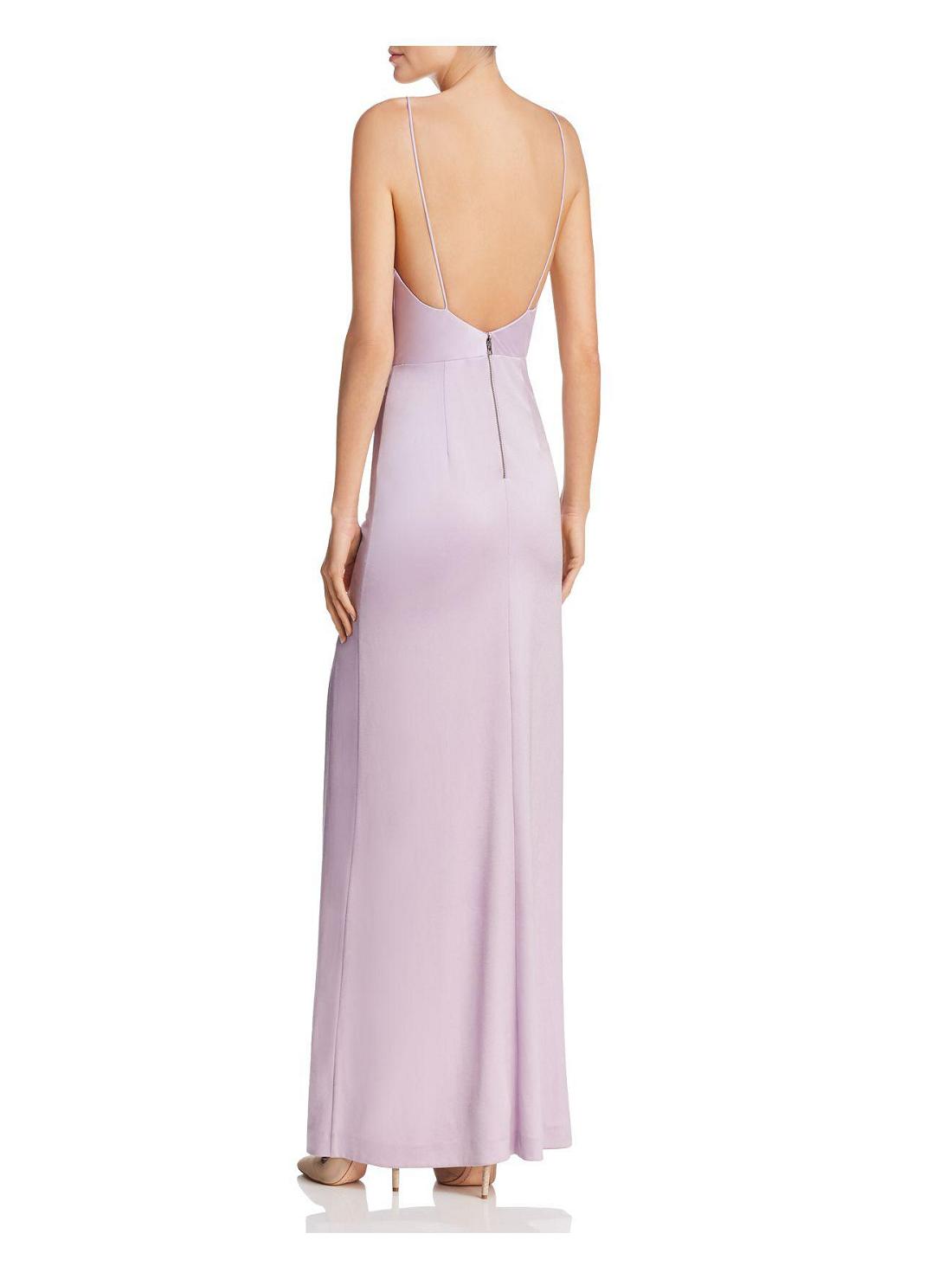 4 Wholesale Satin Backless Dress
