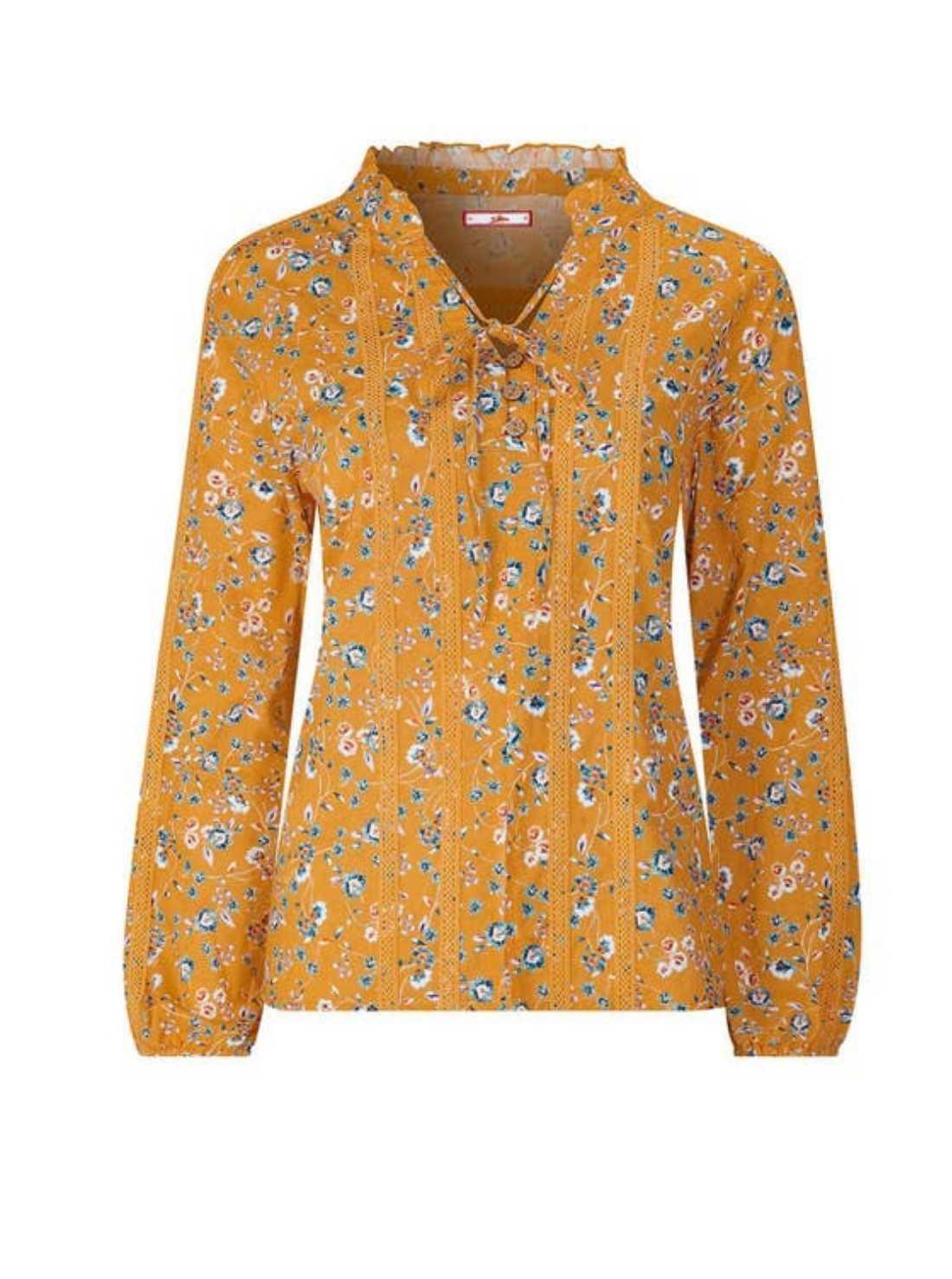 Fab floral boho blouse