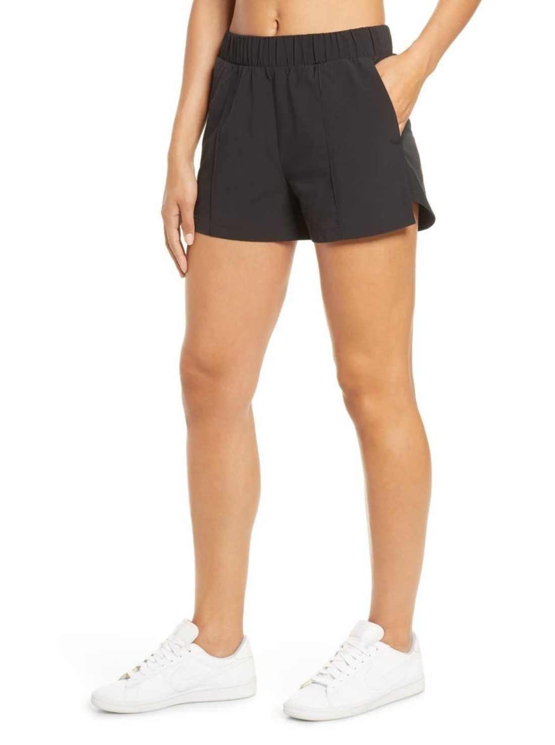 Get-away high-waist shorts