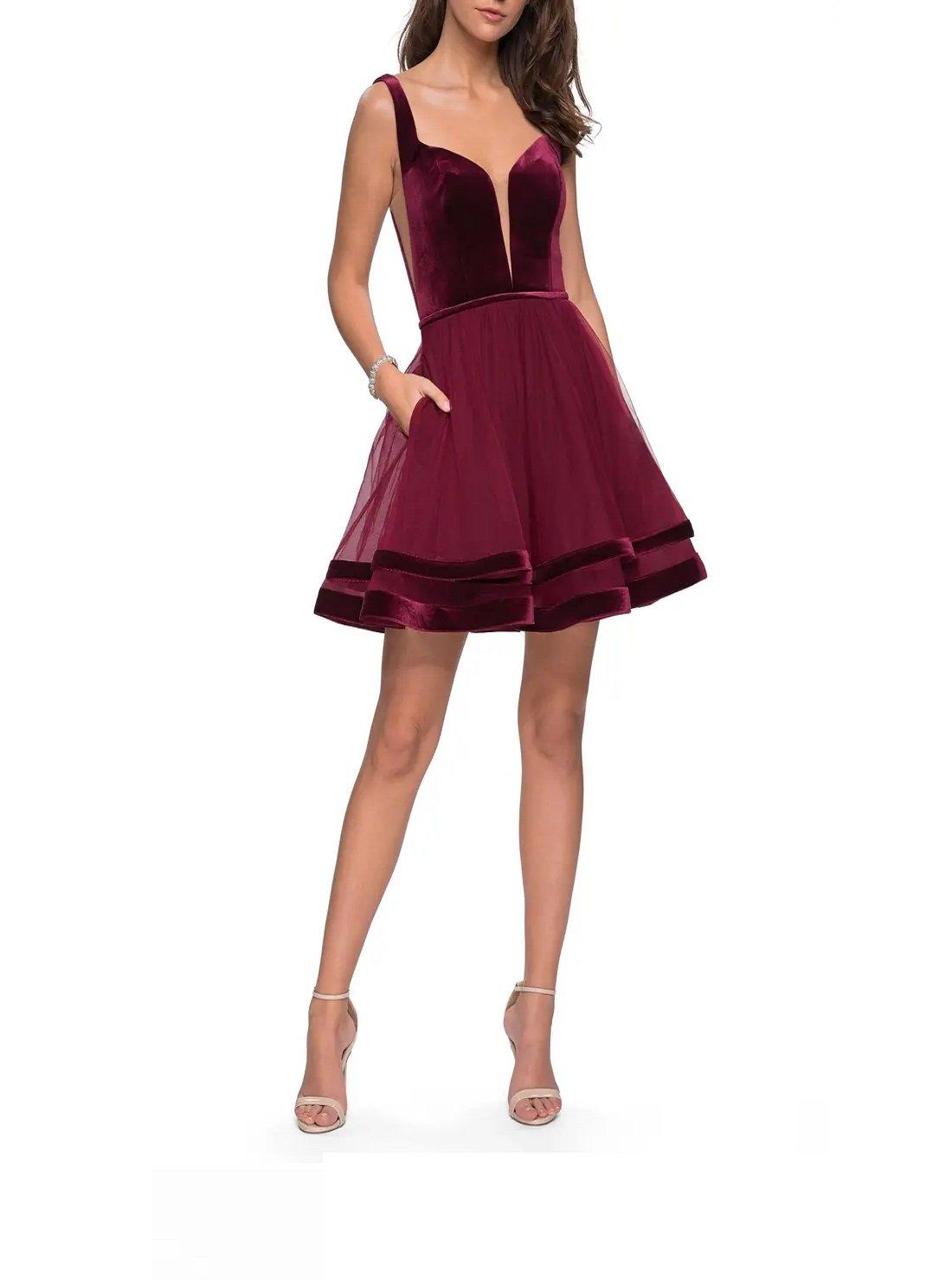 Velvet & Tulle Cocktail Dress