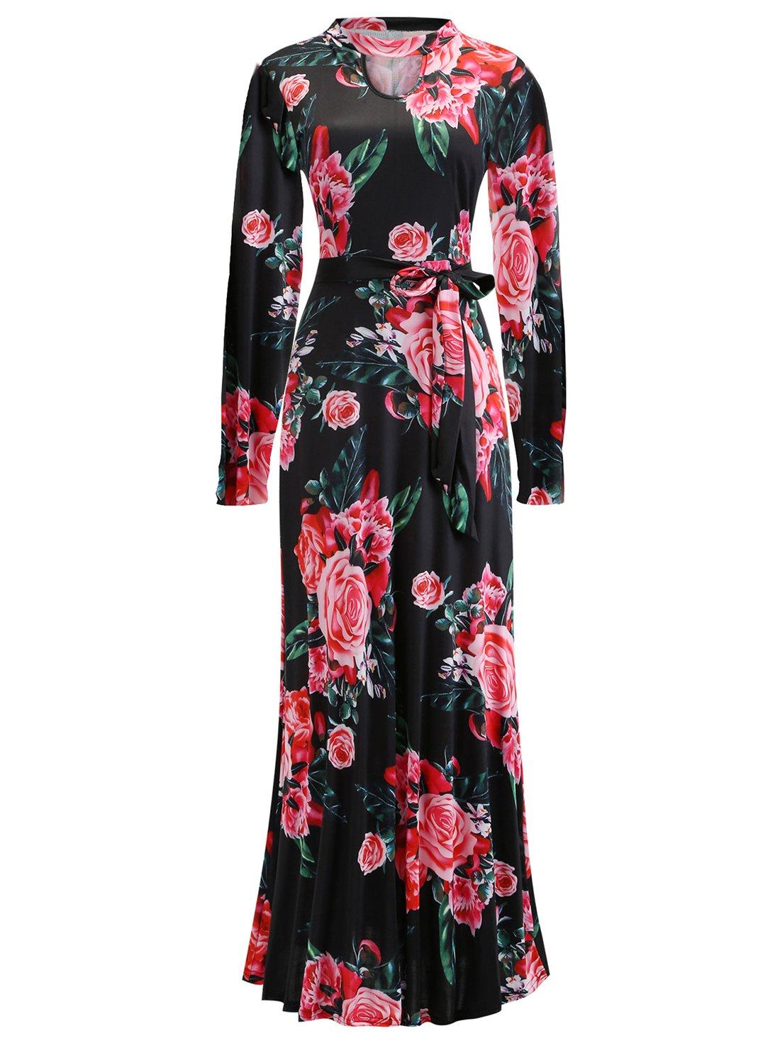 Floral Long Maxi Women Dress