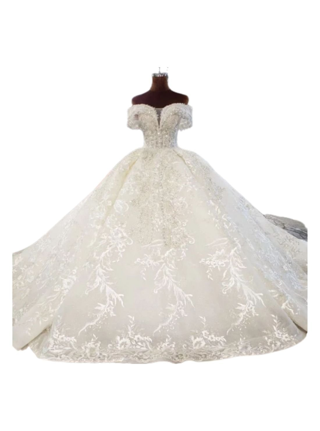 Off-Shoulder Ball Gown Wedding Dresses China