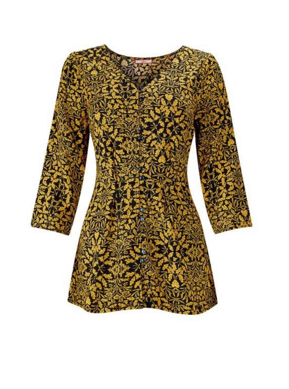 Amazing print boho blouse
