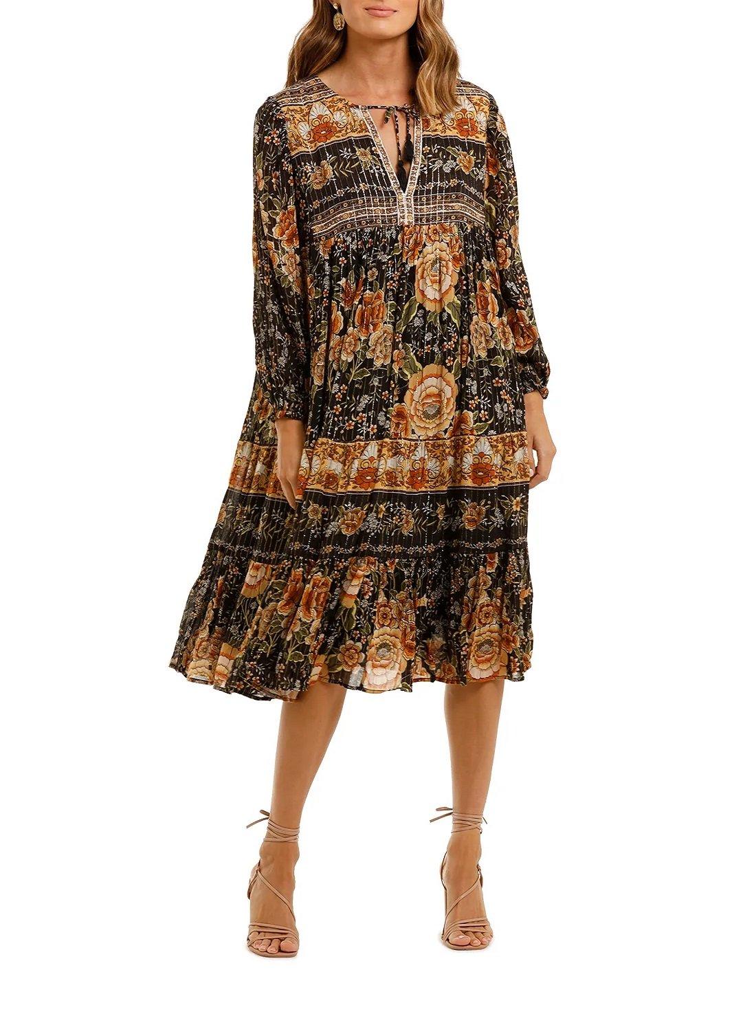 Mystic Boho Dress in Nightfall