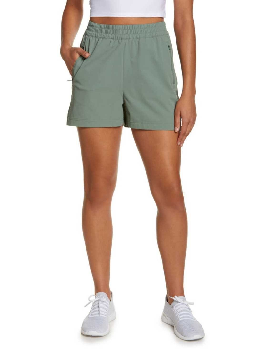 Water-resistant hiking shorts