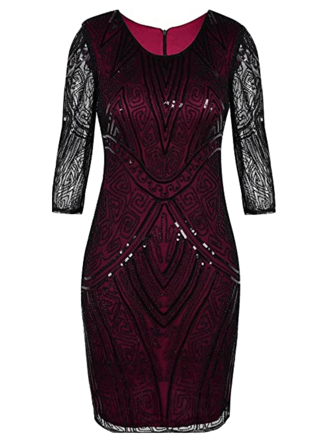 Wholesale Flapper Dress with Long Sleeve