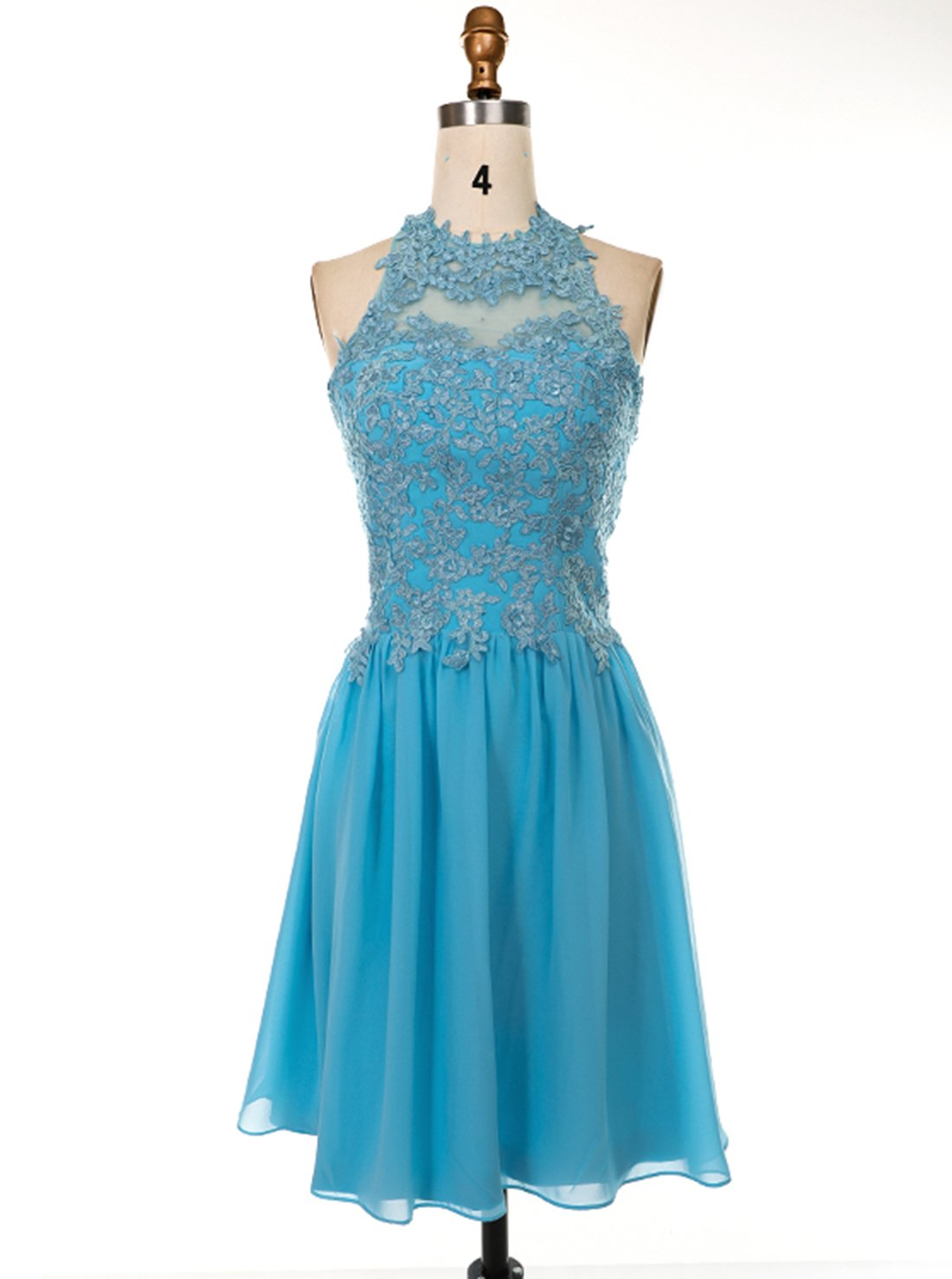Chiffon Short Homecoming Dress