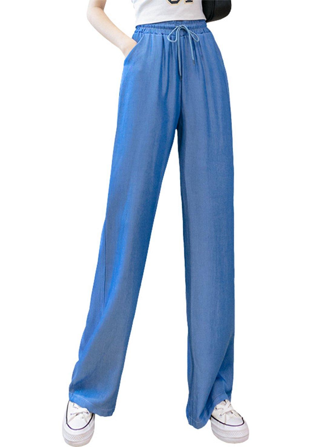 Drawstring Ladies' Jeans