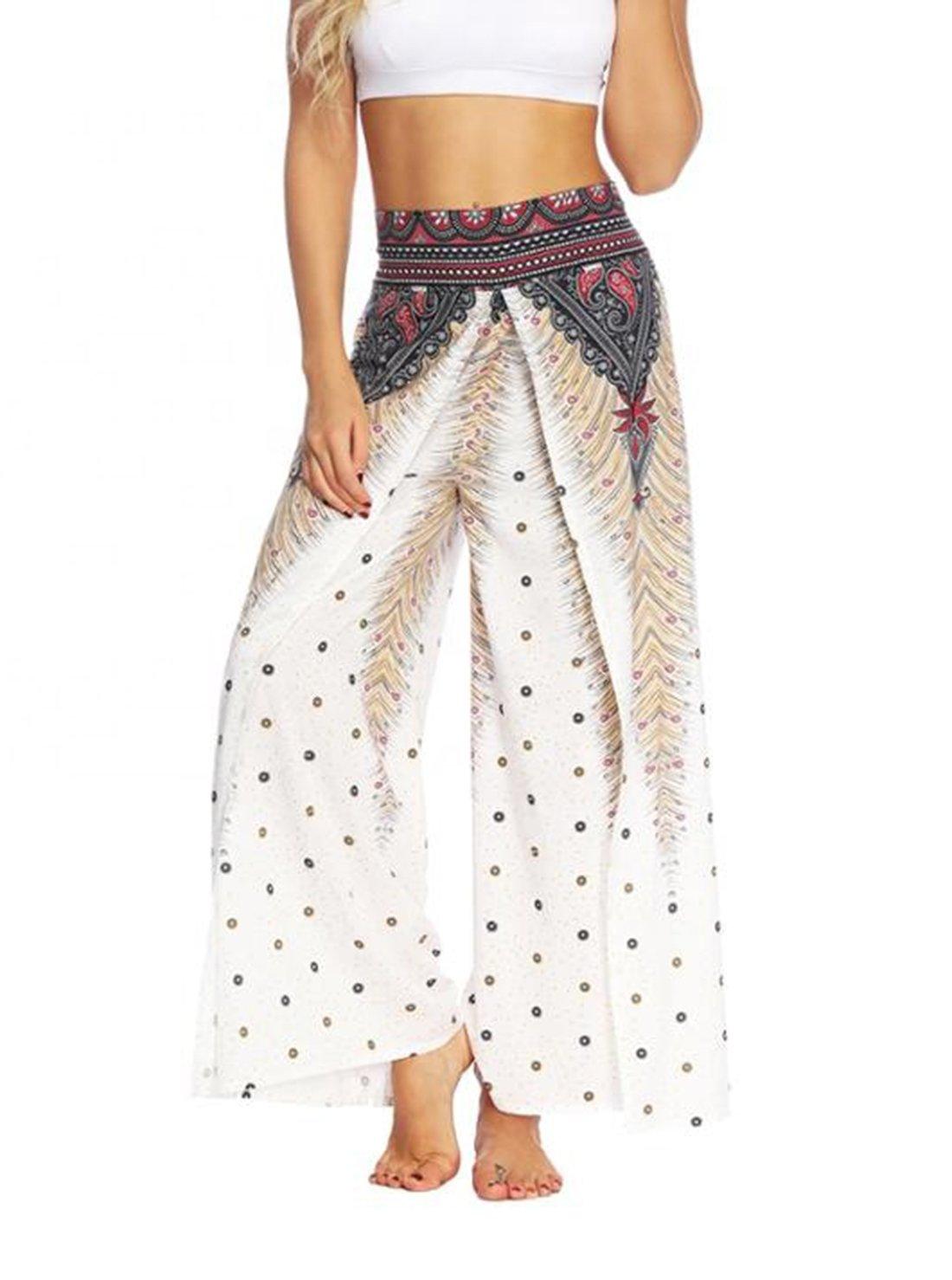 Split Loose Yoga Pants