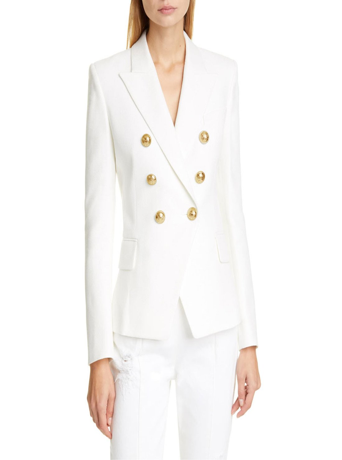 Women's Suits Double Breasted Blazer