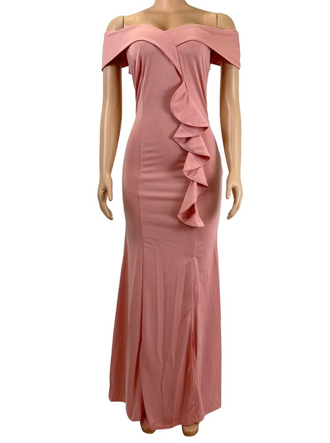 Wholesale Long Robe Occasion Dress