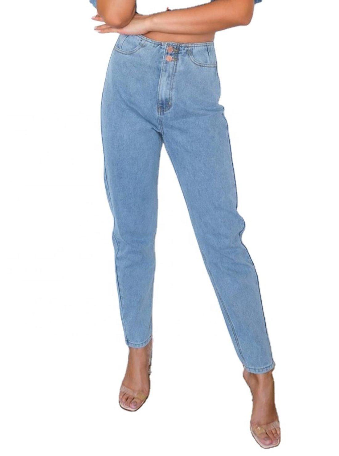 Elastic Ladies' Jeans