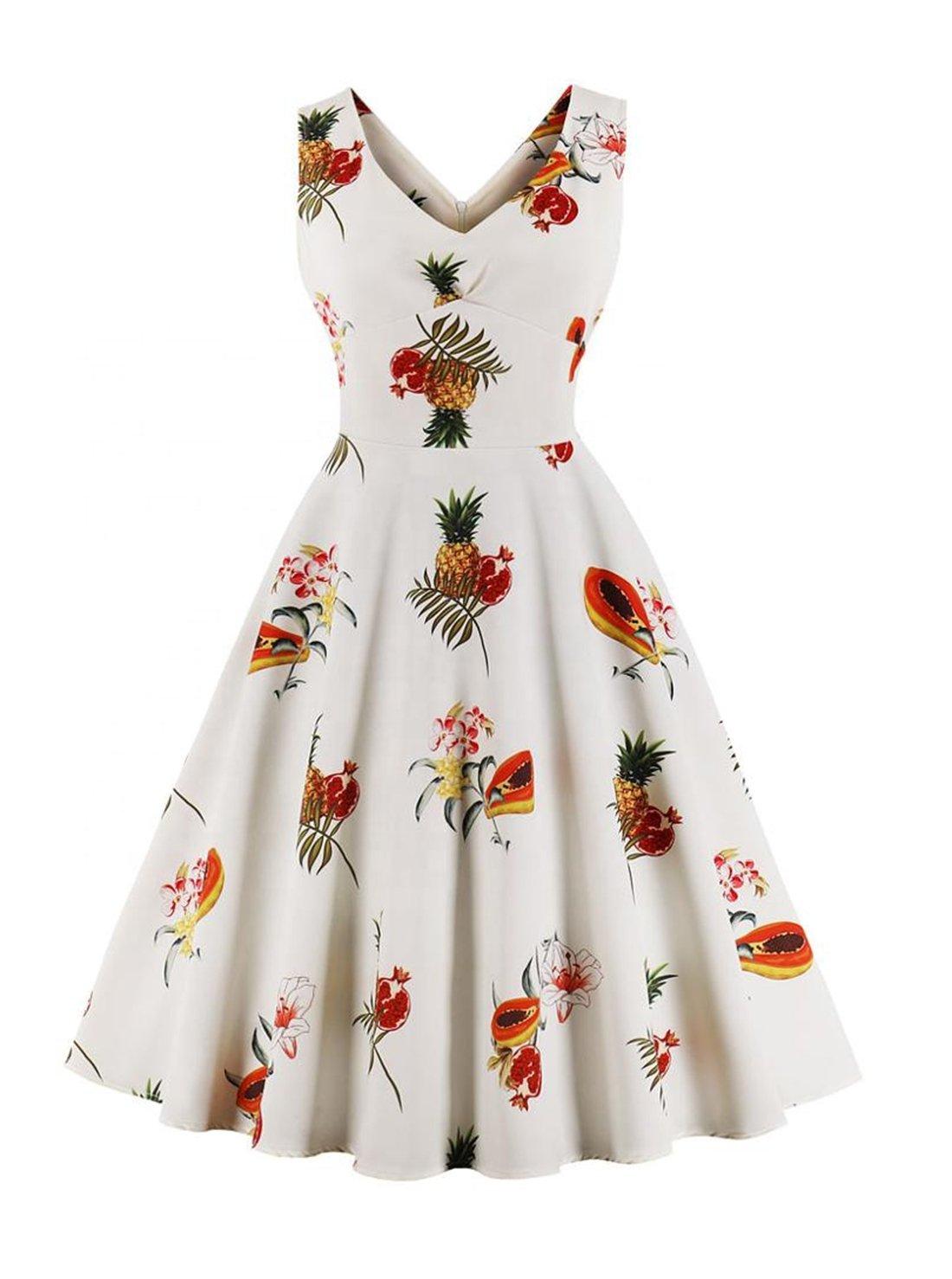 Retro Swing Homecoming Dress