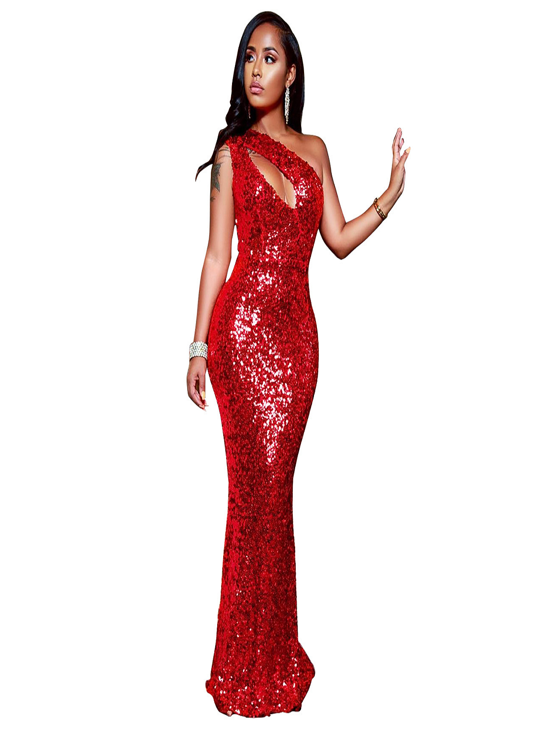 Wholesale Evening Red Dress