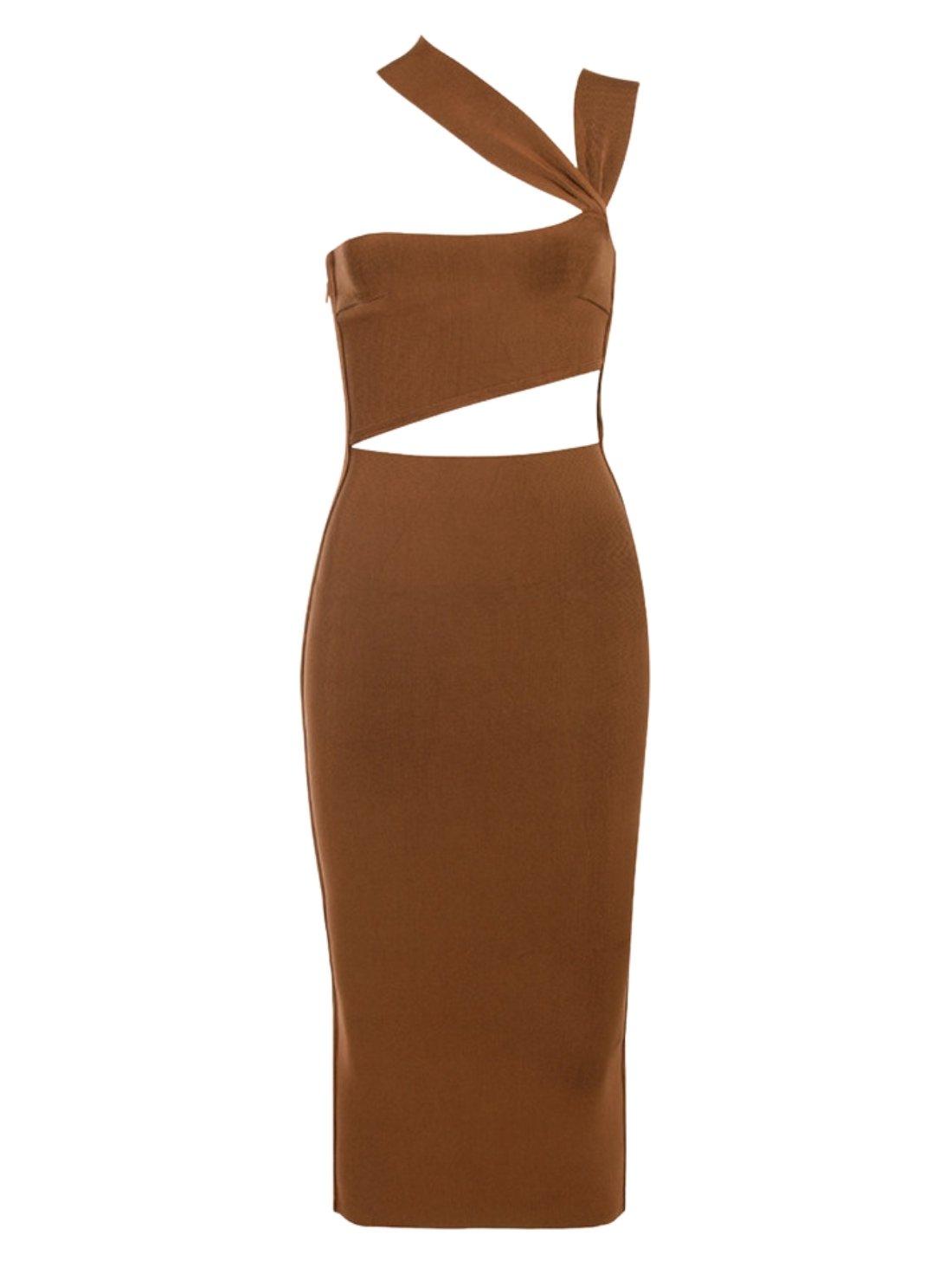 Wholesale Sleeveless Halter Bandage Dress