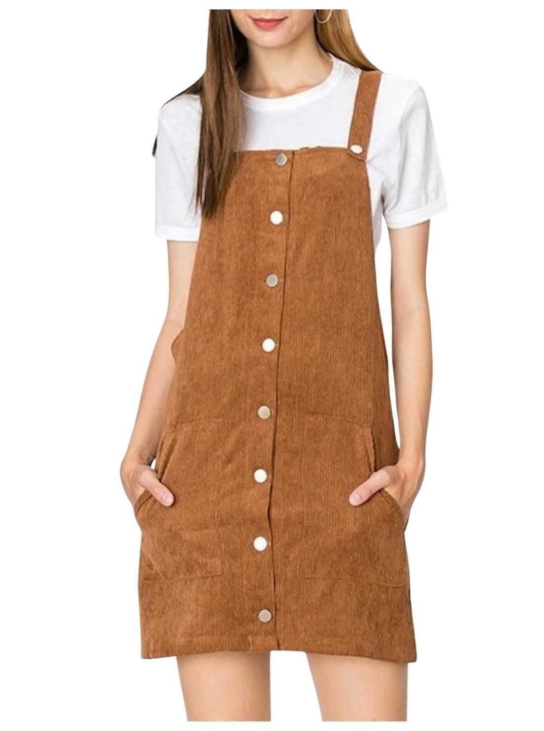 Jumper Dress Brown