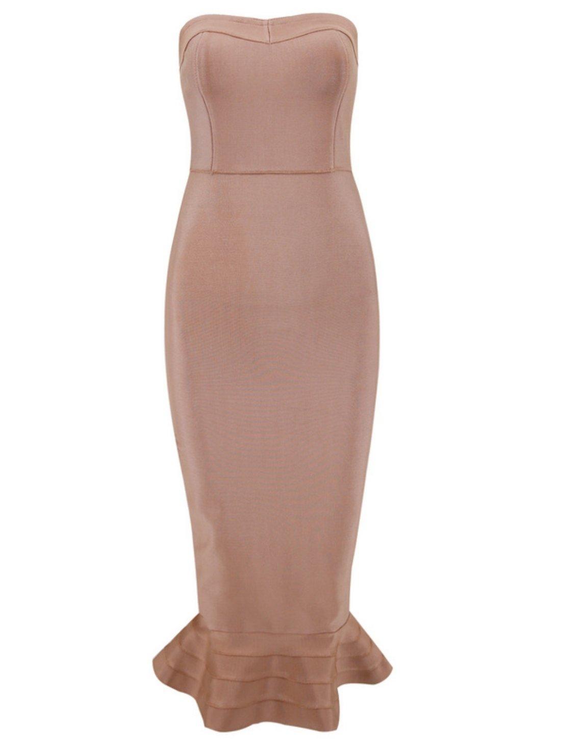 Wholesale Fishtail Bandage Dress