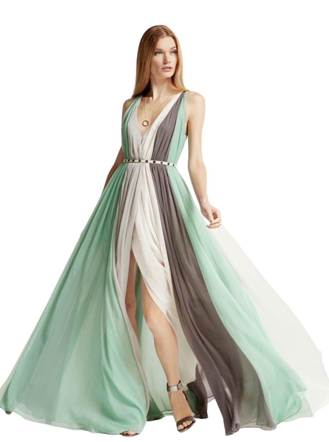 Wholesale Multicolor Chiffon Dress