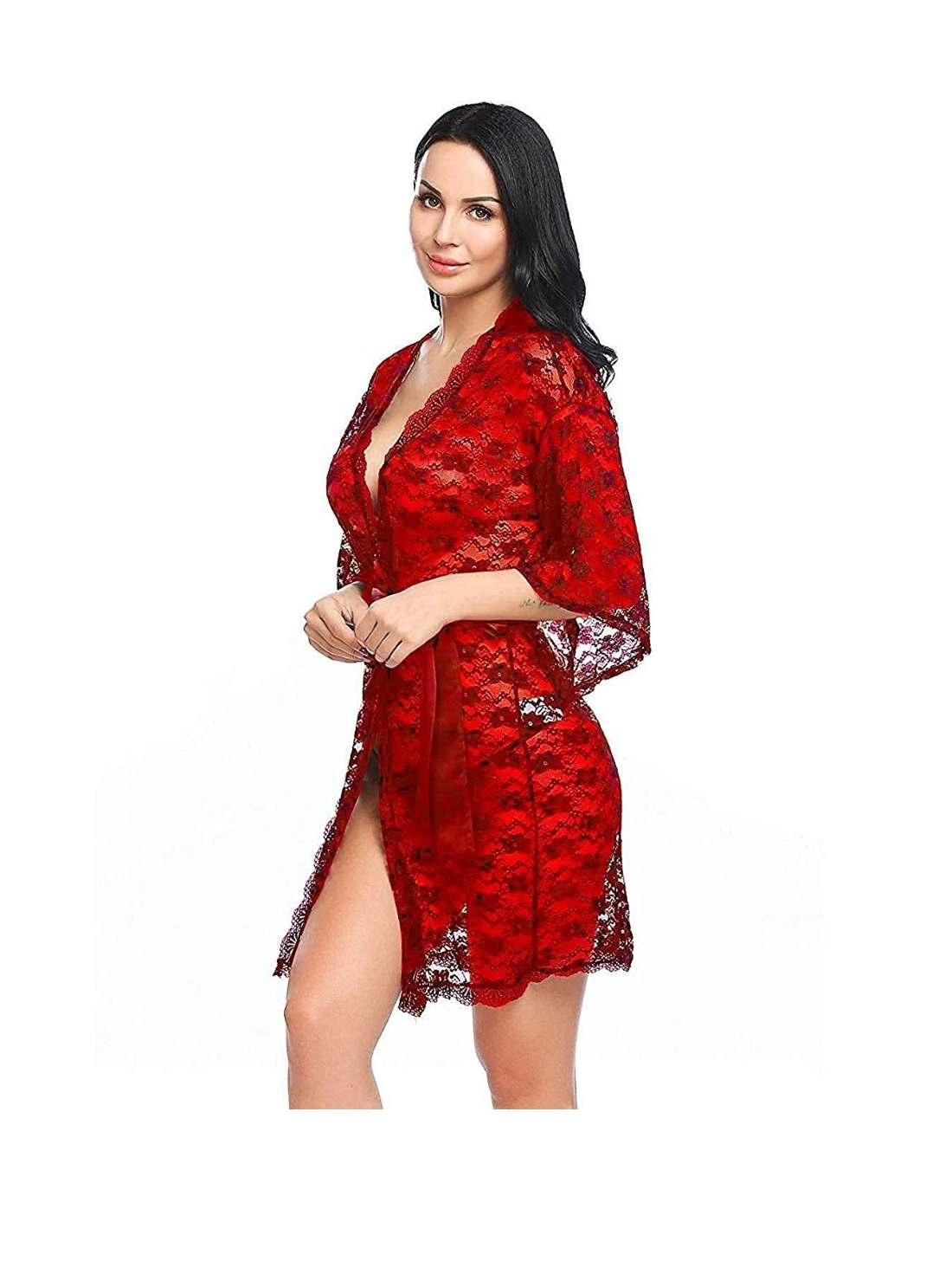 Above Knee Robe Dress & Nightwear